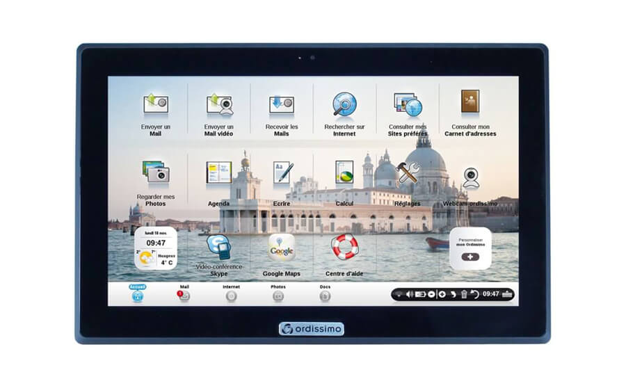 Tablette pour senior Ordissimo