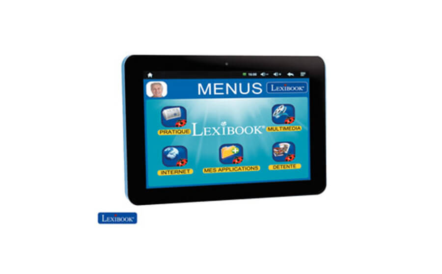 Tablette pour senior Lexibook