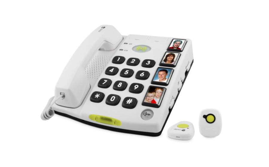 Téléphone convivial et sécurisant